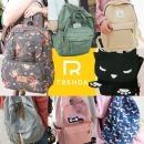 백팩 가방 학생 여성 여행용 배낭 꽃무늬 책가방 여행