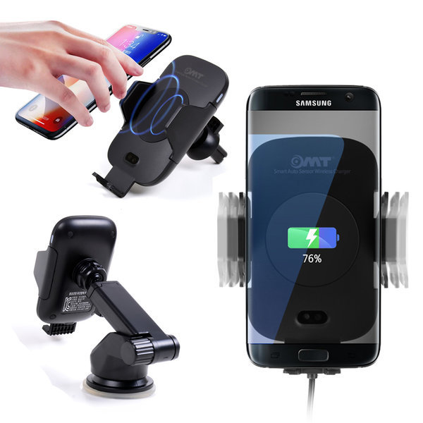 OMT 차량용 자동센서 휴대폰 무선충전거치대 OWC-AUTO