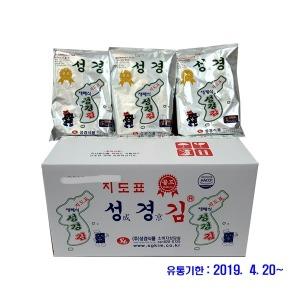 지도표 재래식 성경김 골드재래大 1박스 (60gX20봉)