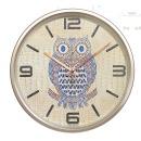 골드 부엉이 무소음벽시계 31cm/집들이선물 개업선물