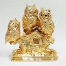 하우스 황금부엉이 장식소품 A타입 인테리어 개업선물