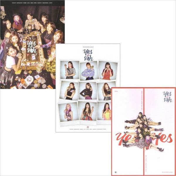 (3종CD+3종포토카드셋트+3종포스터증정) 트와이스 (Twice) - Yes Or Yes (6th Mini Album)