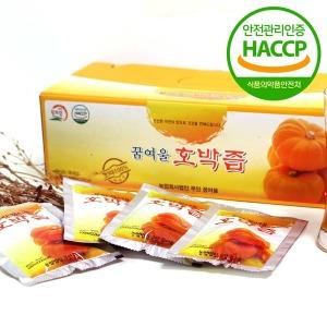 무안황토 꿈여울 호박즙 60포 HACCP 늙은호박
