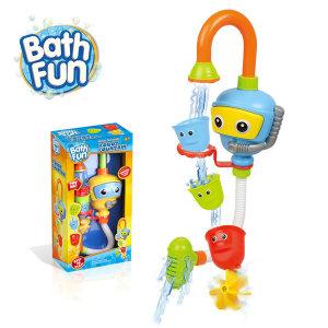 Bath Fun 로보트 유아 샤워기 아기목욕장난감