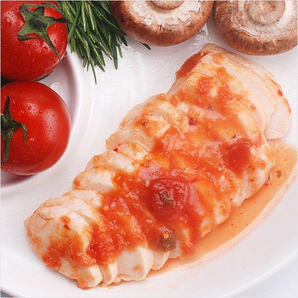 인생닭 슬라이스 닭가슴살 매콤토마토맛 120g 50팩