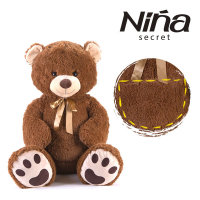 니냐 포켓 베어 인형 브라운 곰인형 대형인형 동물인형