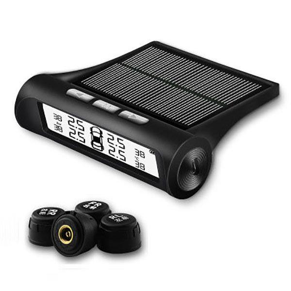 타이어 공기압 경보장치 TPMS 흑백LCD 외장센서