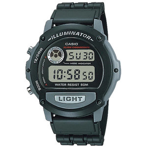 카시오정품 W-87H-1V 전자손목시계 군인학생 패션방수
