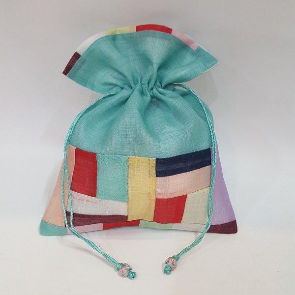 전통 조각 복주머니 한국 전통 기념품 외국인 선물