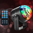 휴대용 LED 7가지 색상 미러볼 라이트 노래방 조명