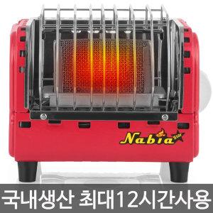 나비아 NGH-1200(레드) 캠핑난로 낚시 히터 12시간