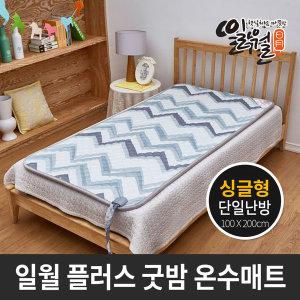 온수매트 싱글 플러스 굿밤 온수매트 100x200 일월매트