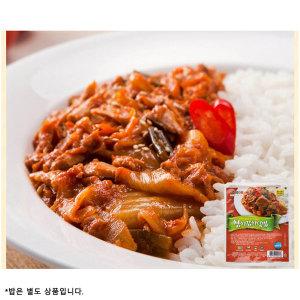 더빱 참치김치 덮밥소스 220gX8레토르 반조리 혼밥