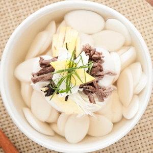 HACCP 국산쌀(일반미)떡국떡1kg  2개/만두 쌀떡 떡국