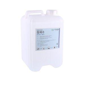 지게차 증류수 정제수 배터리 밧데리 보충수 10L 18L
