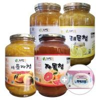 자연뜰 무농약 햇 유자청 2kg 레몬청 자몽청 유자차