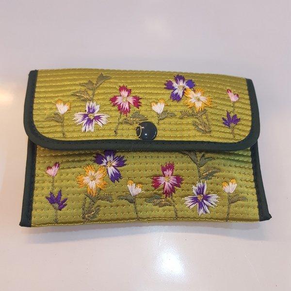 전통 동전지갑 똑딱이 자수 한국 기념품 외국인 선물