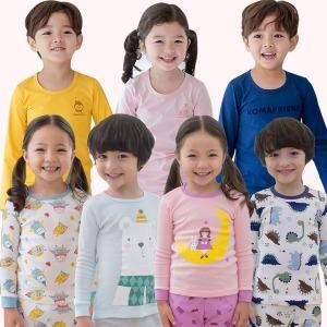 2018 아동내의/실내복 30수/20수/발열기모내의/7부