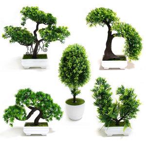 분재 5종 모형분재 조화 조화화분 인테리어화분 나무