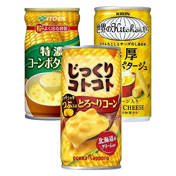 일본 콘스프/콘포타주 캔 포카 기린 이토엔