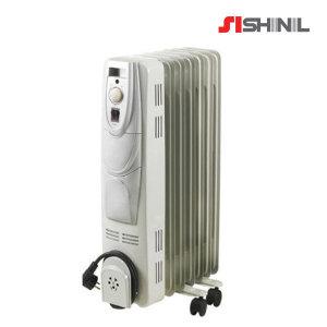 전기 라디에이터 7핀 SER-SJ15CM 청정난방 컨벡션히터