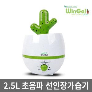 초음파가습기/WHU-5100/GN/선인장가습기/대용량가습기