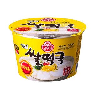 (현대Hmall)오뚜기 쌀떡국 용기 181.6g x 12개입