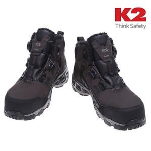 K2-86 다이얼 기모 방한 안전화/겨울 작업화/방한화