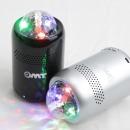 OMT 미러볼 블루투스 스피커 OBS-M16 LED 무드등 블랙