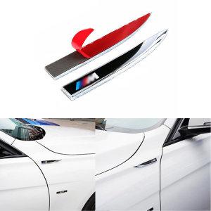 BMW M 튜닝 엠블럼 액세서리 스티커 익스테리어용