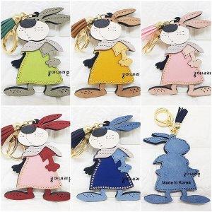 토끼모양 캐릭터키링/캐릭터 열쇠고리/캐릭터 가방키