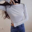 골지티/니트티/티셔츠/여성티셔츠/여성의류/얇은니트