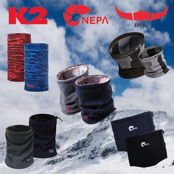 k2 네파 버팔로 겨울방한용품 넥워머 넥게이트 목토시