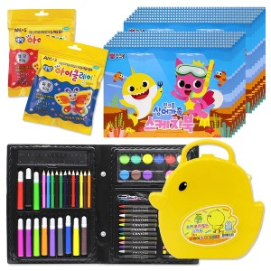 미술세트 스케치북 색연필 연필 색종이 생일선물