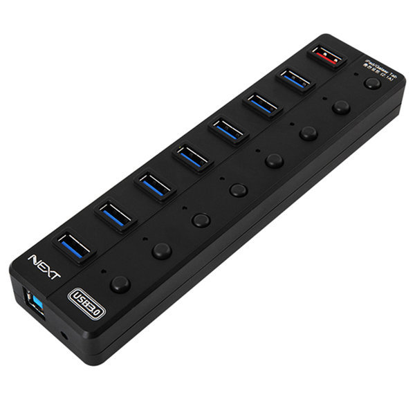 NEXT-UH308 USB허브 usb3.0 + 1포트 충전포트지원