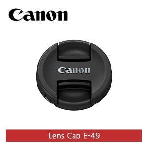 정품  E-49 렌즈 앞캡 49mm