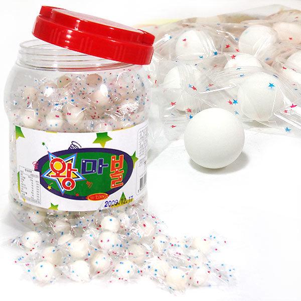 왕마볼 800g x 1통 추억의알사탕 사탕 캔디