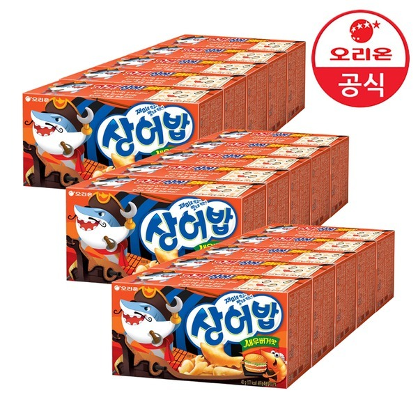 상어밥 새우버거맛 40g x 15개