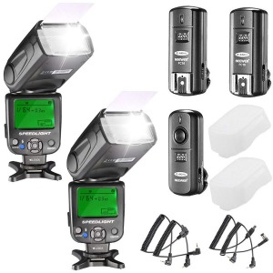 NW620 Manual Flash Speedlite Kit for Canon Nikon