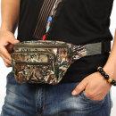 밀리터리 힙색/여권가방 폰가방 허리색 여행용전대