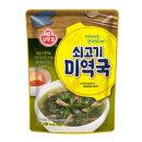 오뚜기 쇠고기미역국 500g/미역국/즉석국/간편식
