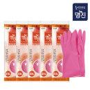 명진 고무장갑 특특대 핑크x5개/위생 주방용