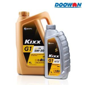 GS칼텍스/가솔린엔진오일/합성유/G1/Ga/1L/4L/5W-30