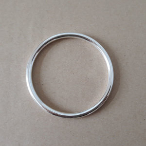 e936fa2dcc9 순은(925)5mm링팔찌 뱅글팔찌 굵은팔찌 통팔찌 은팔찌