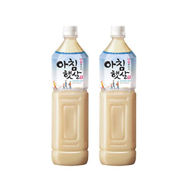 웅진 아침햇살 1.5Lx12 쌀음료