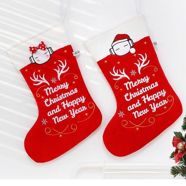또로와로로 산타 양말-43cm/크리스마스소품/장식
