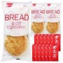 잉글리쉬머핀 3개+일회용 딸기잼 12개 세트/냉동빵