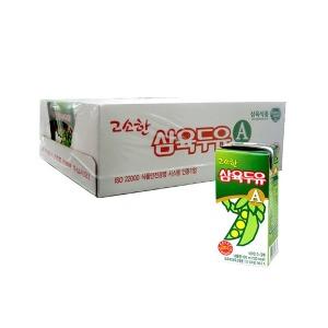 고소한맛A 190ml X 24팩/베지밀/삼육두유