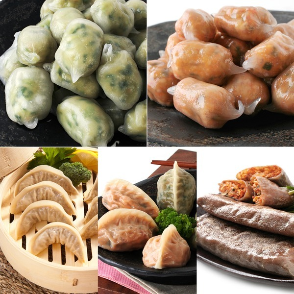 2봉/HACCP옹심이만두1kgx2봉/만두.간식