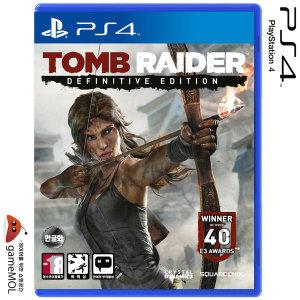 PS4 툼레이더 Definitive Edition / 소니공식대리점